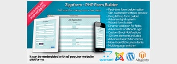Zigaform - PHP Form Builder - Contact Survey