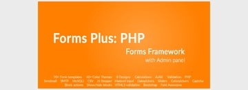 Forms Plus PHP - Forms Framework