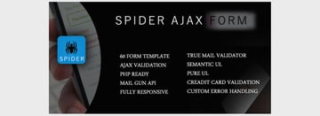 Spider - AJAXPHP 50 Form With jQuery Validation