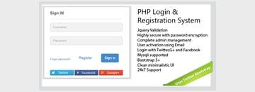 Secure-PHP-Login Registration System