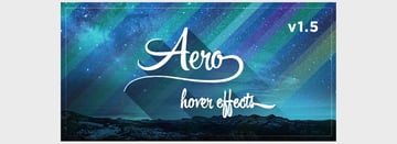 Aero - CSS3 Hover Effects