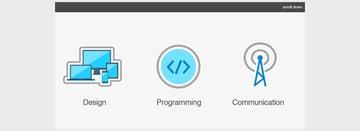 SVG Logo Scroll Animation CSS3 and Javascript