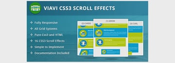Viavi CSS3 Scroll Effects
