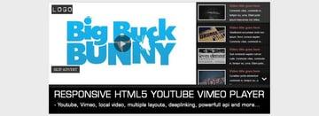 Responsive Video Gallery HTML5 YouTube Vimeo