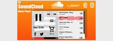 DS SoundCloud Custom Music Player