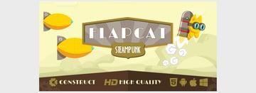 Game FlapCat Steampunk