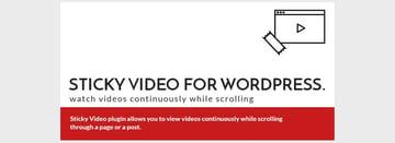 StickyVideo for WordPress