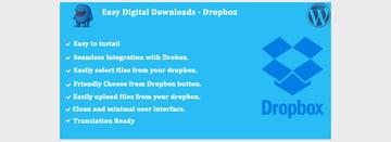 Easy Digital Downloads - Dropbox