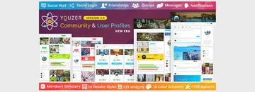 Youzer - WordPress Community User Profiles New Era