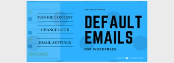 Customize Default Emails for WordPress