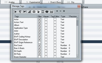 The Tag Editor