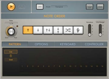 The highly functional Arpeggiator