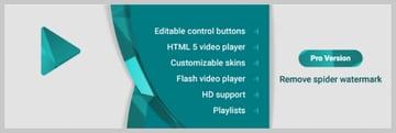 Spider Video Player