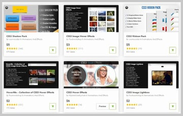 CSS Animations from CodeCanyon
