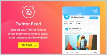 Elfsight Twitter Feed