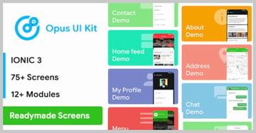Ionic Opus UI Kit