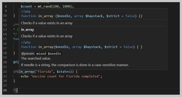 VSCode 3rd Party documentation