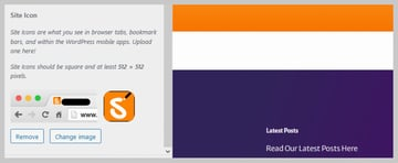 WordPress Custom Theme Changed Logo