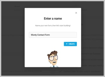 Forminator Contact Form Name