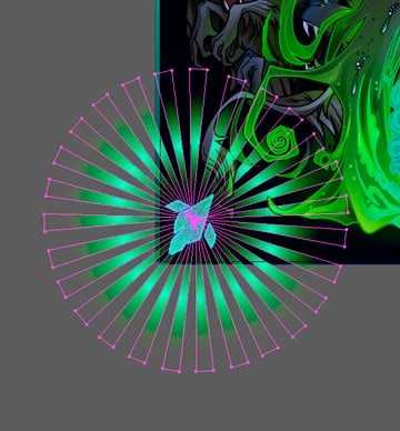 Adding Light to the Emerald Crystals 2
