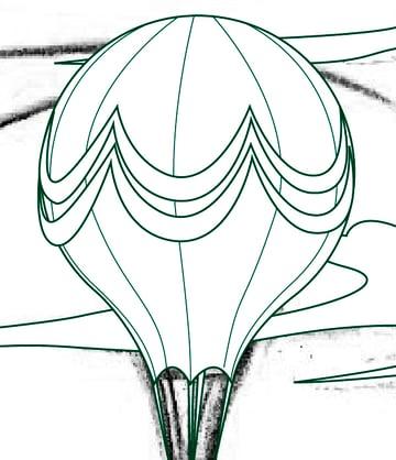 Creating the Hot Air Balloon 3