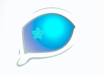 Creating Star for Eye