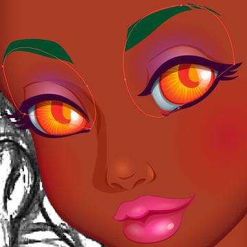 End Result of Eyeshadow