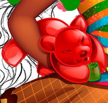 Making Gummi Bears 10
