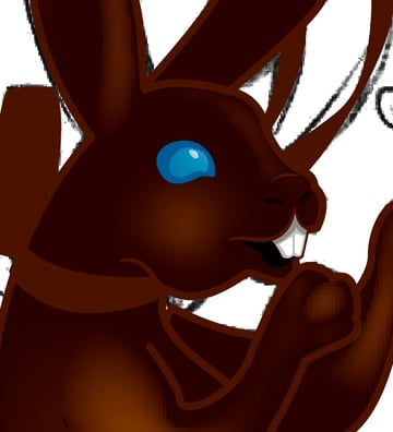 Making a Chocolate Bunny 4