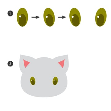 creating and putting the eyes