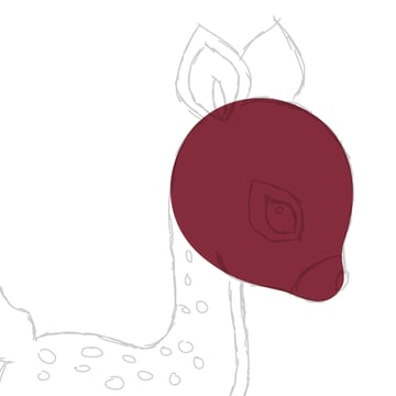 drawing the head 2