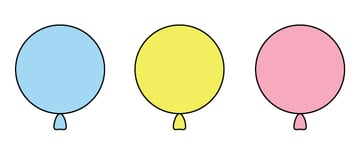 creating another colors balloons