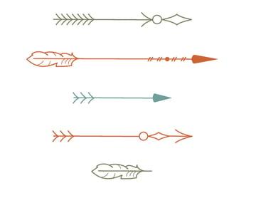 coloring the arrows