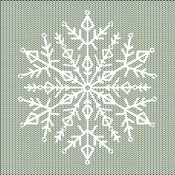 placing the snowflake