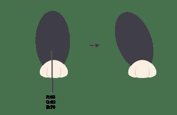 creating the hind leg