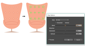 placing the texture effect