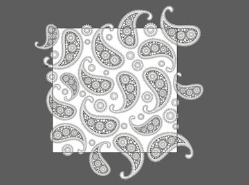 designing the paisley pattern 2