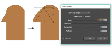 how to create the nose