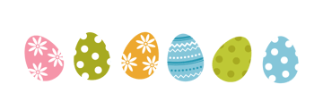 all the eggs together