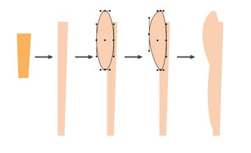 how to create the leg