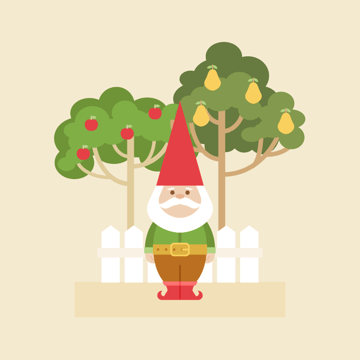 how to place the trees on the background