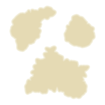 how to create the Offset Path for the continents