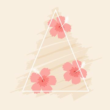 arranging tropical background