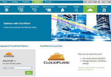 Install CloudFlare Part 1