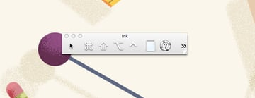 Ink Toolbar on Mac OS X