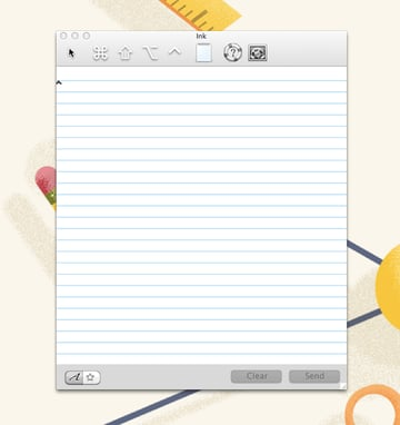 Ink Note Pad on Mac OS X