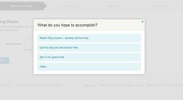 Etsys Quick Survey