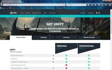 Download Unity