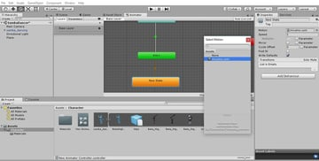 Adding animation to the controller
