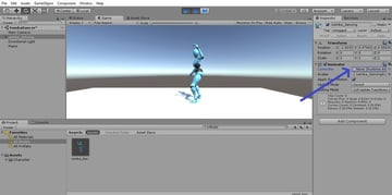 Adding the controller to the character